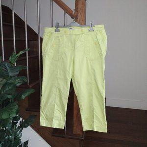 🛍️3/$25 MXM Curvy Smart Stretch Ankle Lime Pants